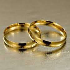 Alianças De Casamento E Noivado De Ouro 18k /750