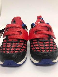 Zapatillas adidas Spiderman Para Bebes - Talle 19