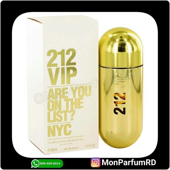 ** Perfume 212 Vip Damas By Carolina Herrera. Inmediato ***