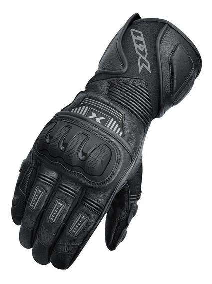 Luva Motociclista X11 Impact 2 De Couro Proteção