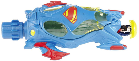 Vehiculo De Superman Mattel Juguete Niños Flight
