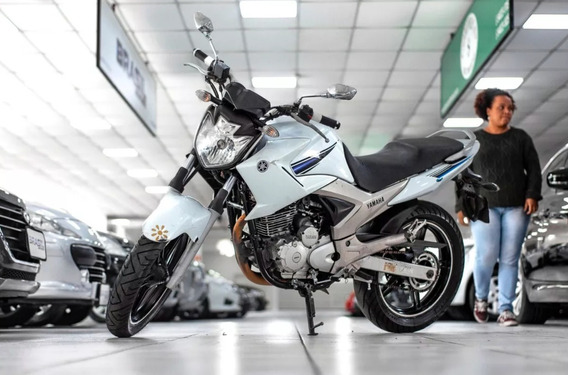 Yamaha Fazer 250cc 2014 Branca Cod:.1011