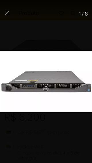 Servidor Dell R610 1 X5570 1 Sas 146 1 Fonte H700 32g