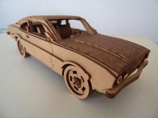 Miniatura Ford Maverick Em Mdf