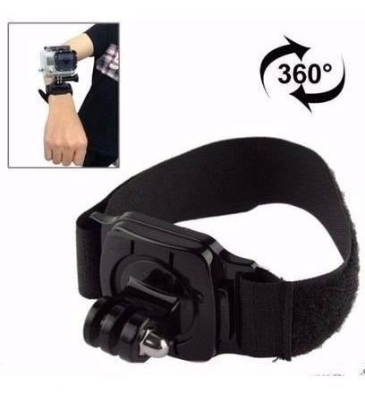 Suporte Pulso 360 Wrist Strap Acessorios Gopro Sjcam Sessio