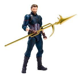 Capitão América Captain Infinity War Bandai Guerra Infinita