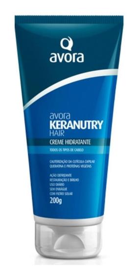 Avora Keranutry Hair Creme Sem Enxágue 200ml