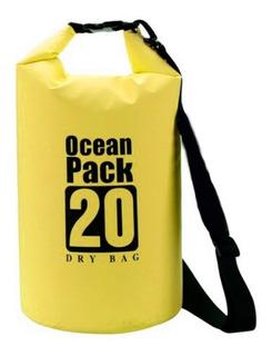 Bolsa Seca Contra Agua 20 Litros Impermeable Dry Bag !!