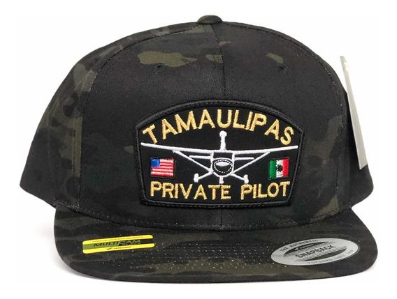 Gorra Yupoong Multicam Tamaulipas Private Pilot Snapback
