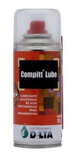 Compitt Lube Lubricante Siliconado Para Rodamientos 120 Gr