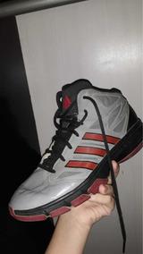 1ed0d97964b Basqueteira Adidas De Couro Masculino - Calçados