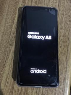 Samsung A8 2018 Igual A Nuevo Sin Detalles Liquido $22000