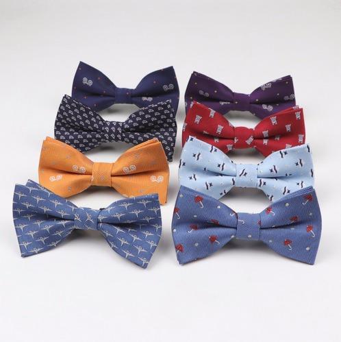 Elegante Corbata Pajarita Moño Para Fiesta Bebe-niño