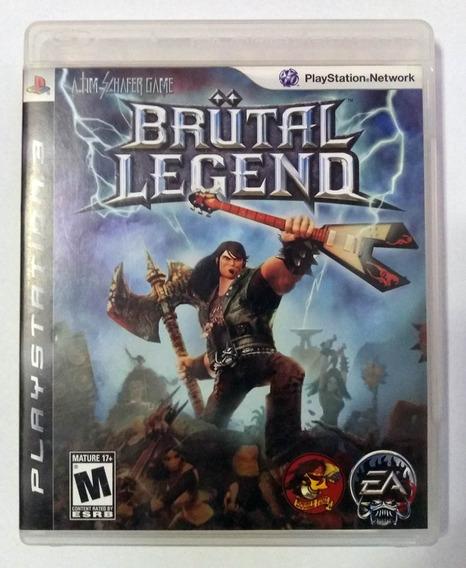 Brutal Legend Ps3 Mídia Física