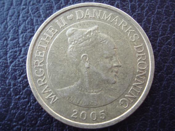 Dinamarca - Moneda De 20 Coronas, Año 2005 - Muy Bueno