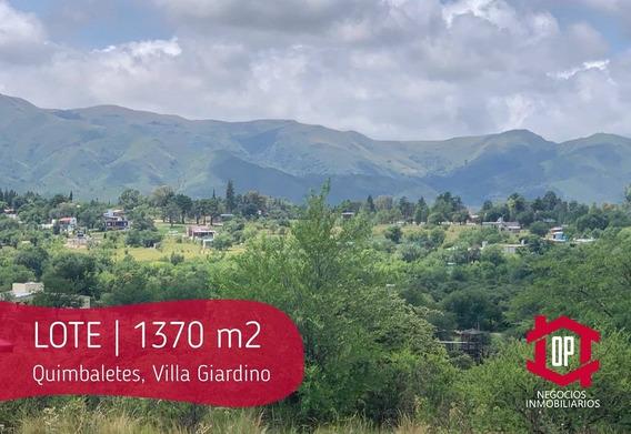 Villa Giardino - Los Quimbaletes - Impresionante Vista.