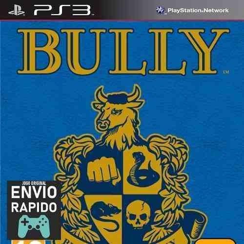 Bully Estilo Gta Escola - Jogos Ps3 Original