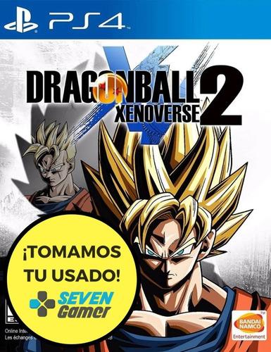 Dragon Ball Xenoverse 2 Xv Ps4 Juego Fisico Sellado Original