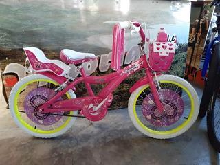 Bicicleta Rodado 20 Niña Umma Rock Star
