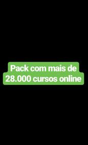 Pack De Cursos On Line Com Mais De 28.000 Materiais