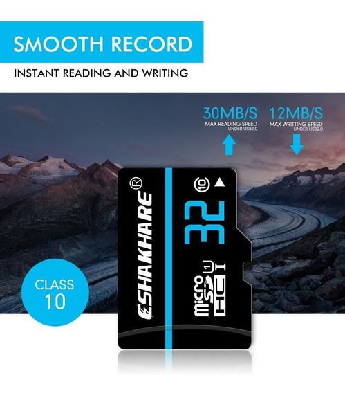 Cartão Memoria Eshakhare Micro Sdxc 32gb Cla10 Frete Gratis
