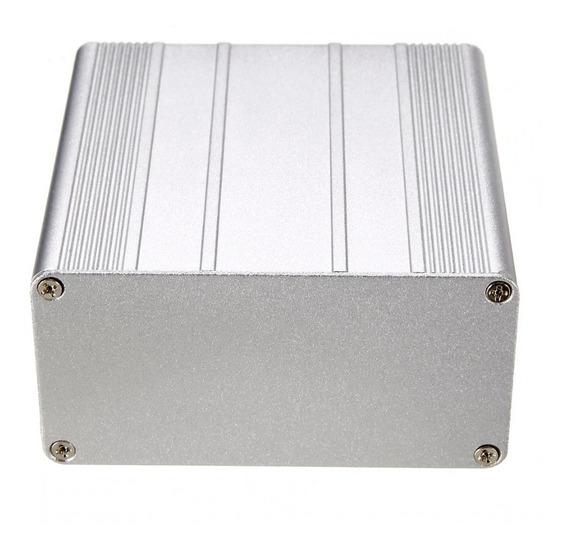 Caixa Case Alumínio Projeto Eletrônica Arduino100x100x50 Diy