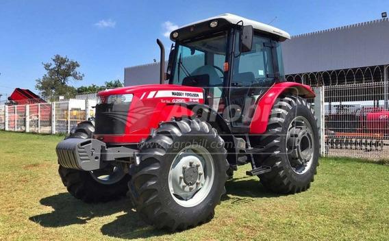 Trator Massey 4290 4×4 Turbo Ano 2018 Semi Novo