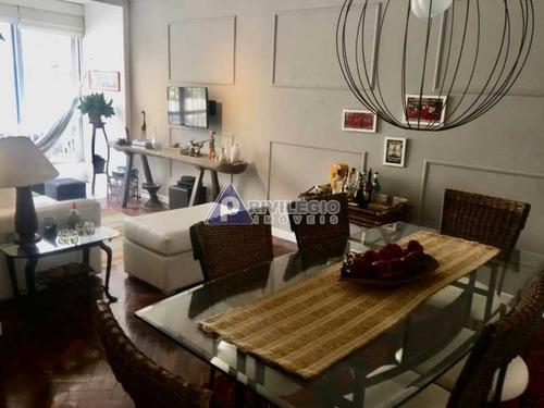 Imagem 1 de 20 de Apartamento À Venda, 2 Quartos, 1 Suíte, 1 Vaga, Leme - Rio De Janeiro/rj - 2956