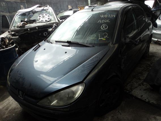 Peugeot 206 1.6 16v Gasolina (((( Sucata )))) Venda De Peças