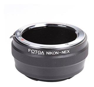 Adaptador Lentes Nikon G A Sony Nex Montura E