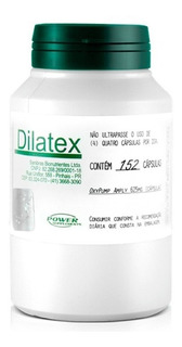 Dilatex 152 Caps 100% Original - Power Supplem Vasodilatador
