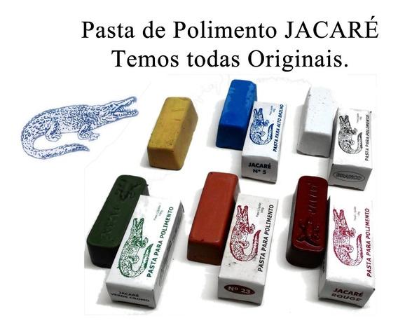 Pasta Jacaré Polir E Afiar 145g Original Temos Todas Ourives