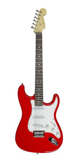 Guitarra Fender 037 0910 Squier Vermelha Strato Mm Ht 506