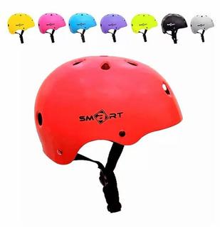 Casco Smart Proteccion Infantil Bicicleta Skate Rollers