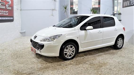 Peugeot 307 Xs 1.6 Blanco 2010 Gnc/nafta En Muy Buen Estado!