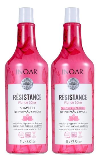 Kit Inoar Résistance Flor De Lótus Salon Duo (2 Prod) Blz