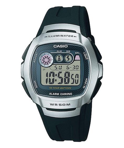 Relógio Masculino Casio Digital Esportivo Preto W-210-1avdf
