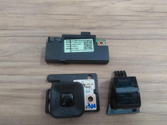 Botão Power, Sensor E Modulo Wifi Tv Samsung Un65mu6100g