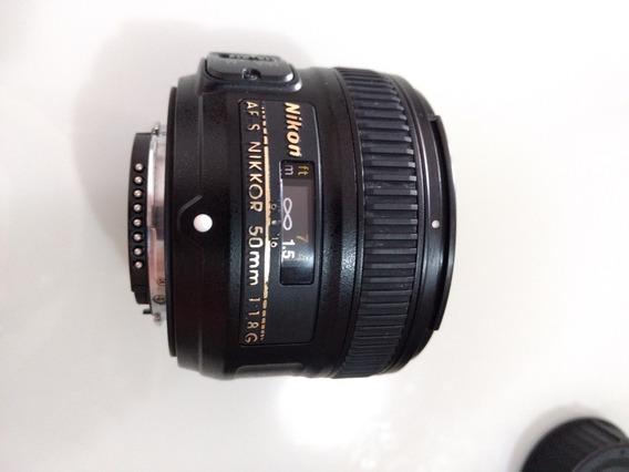 Lente Nikon Af-s Nikkor 50mm 1:1.8g