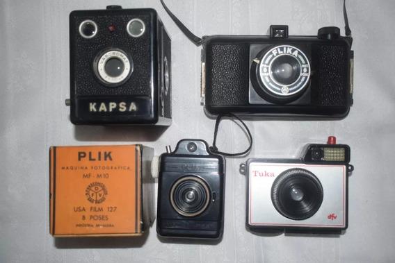 Vendo 04 Máquinas Fotográficas Brasileiras Da Decada De 1960