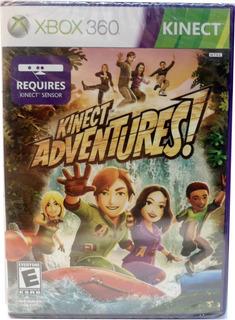 Juego Kinect Adventures Xbox 360 Fisico (5 En 1) Para Sensor