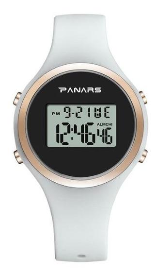 Relógio Feminino Led Digital Panars Synoke Relógio Moda Top