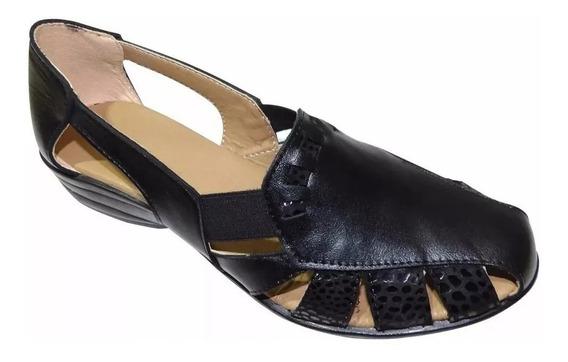 Sandalias Zapatos De Cuero Vacuno Dama Verano-calzados Union