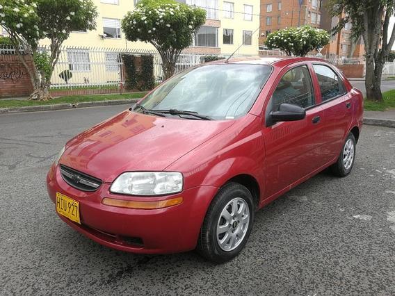 Chevrolet Aveo Family Mt1500cc Rojo Velvet Sa Dh