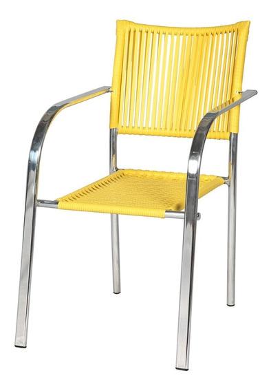 Cadeira Poltrona Area Varanda Junco Vime Fibra Sintética
