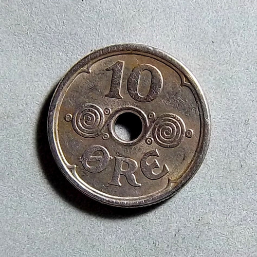 Dinamarca 10 Ore 1925 Exc Km 822.1