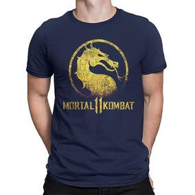 Camisetas Mortal Kombat 11 Liu Kang Scorpion Raiden Game Ps