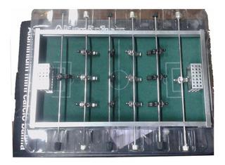 Mini Metegol Futbol Metalico De Mesa Metal 21cm X 12cm X3,5
