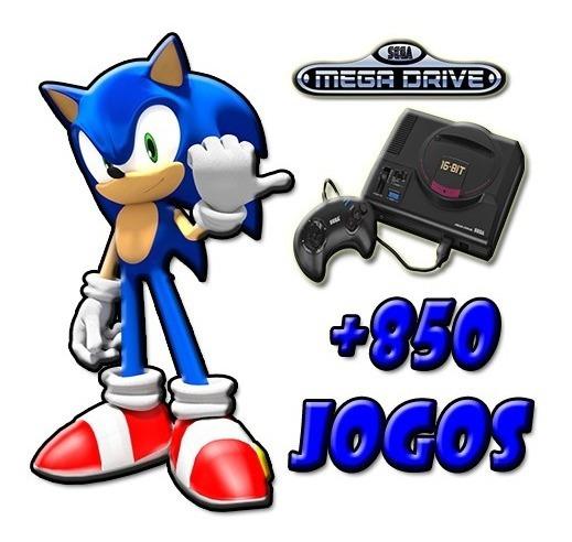 Emulador + 850 Jogos De Mega Drive (pc)