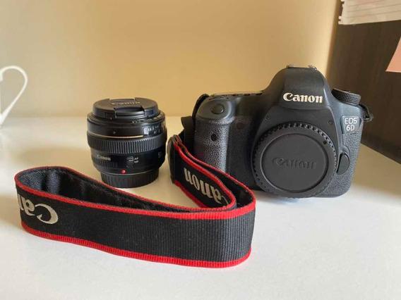 Canon 6d + Lente 50mm 1.4
